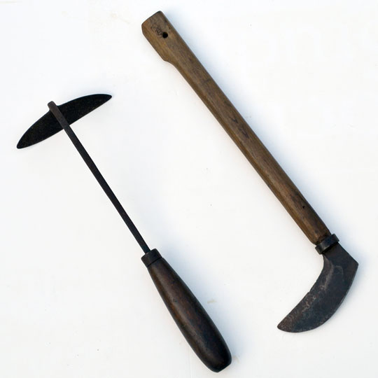 hoe and sickle